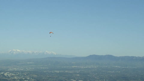 Powered Paraglider Aerials Stock Footage Collection by Rogue